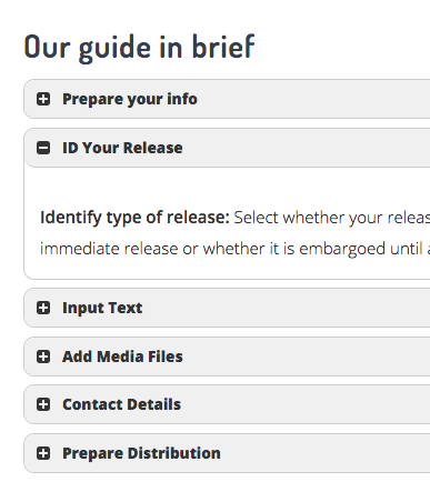 SECOND STEP: Check out our User Manual & prepare your info